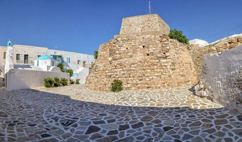 The Castle of Antiparos